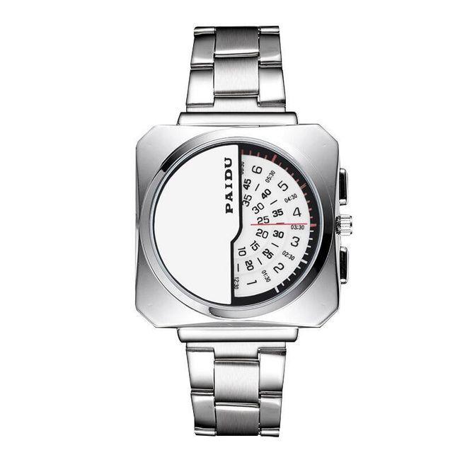 Pánské moderní hodinky s originálním zobrazením času 1