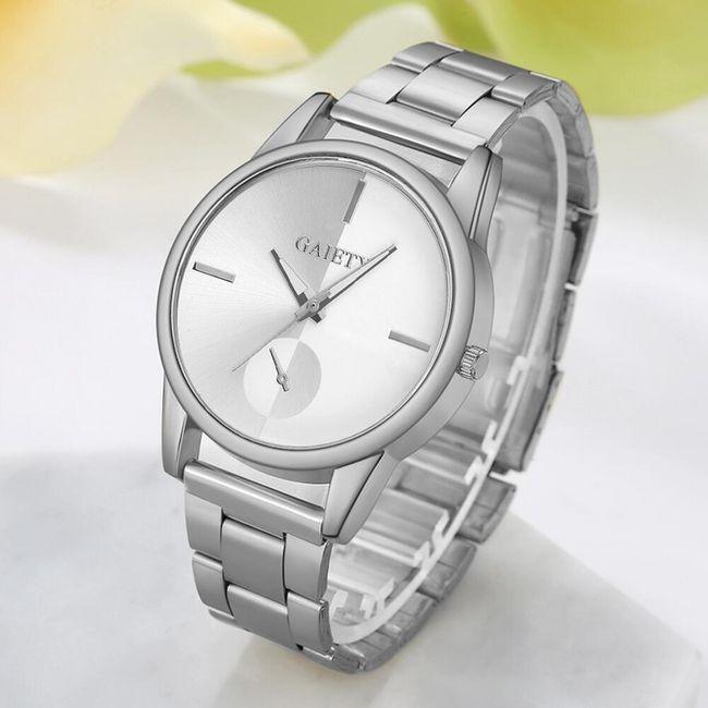 Módní kovové hodinky - 3 barvy 1