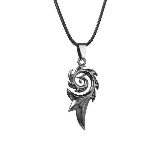 Pánský náhrdelník s přívěskem 1