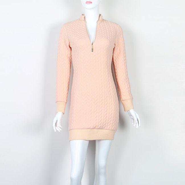 Dámský svetr - zip 1