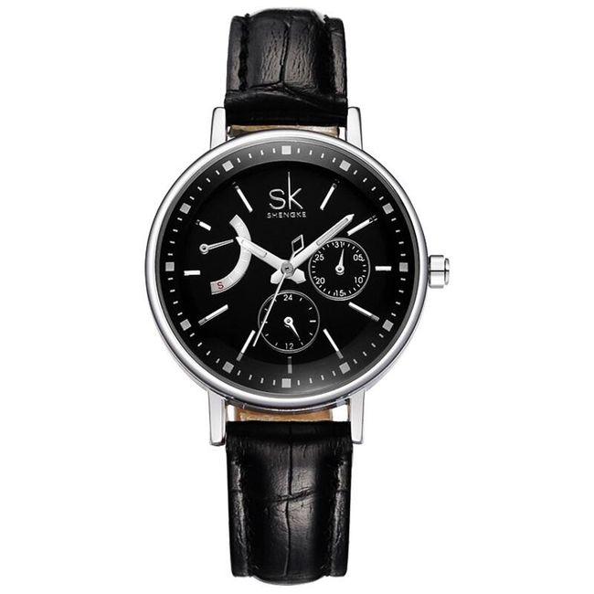 Dámské hodinky s originálním ciferníkem 1