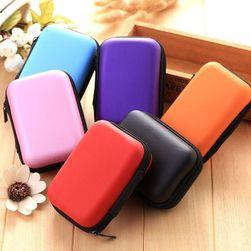 Multifunkční barevné pouzdro na sluchátka