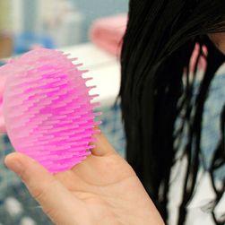 Masážní kartáč na mytí vlasů
