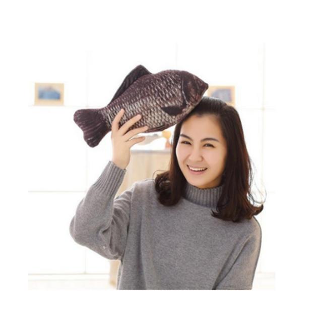 Dekorativní polštář ve tvaru ryby 1