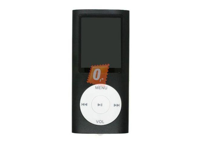 MP3 MP4 Přehrávač 1.8