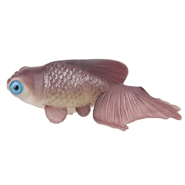 Silikonová ryba do akvária - 3 barvy 1