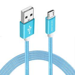 Nabíjecí a synchronizační kabel pro iPhone s pleteným motivem