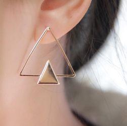 Náušnice ve tvaru trojúhelníku - 2 varianty