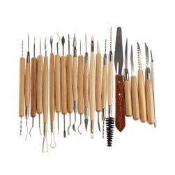 Nástroje pro sochařství a keramiku - dřevěné