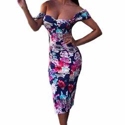 Dámské šaty bez ramínek TN743