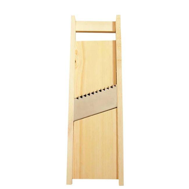 Dřevěné struhadlo na hranolky 1