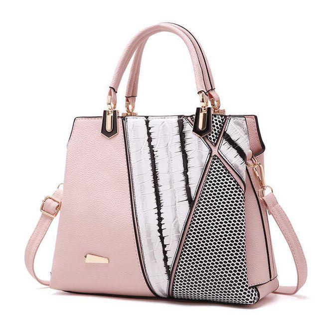 Geometrická dámská kabelka - 5 barev 1