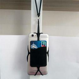 """Silikonové pouzdro na krk pro telefon 3,5 až 5,5"""""""
