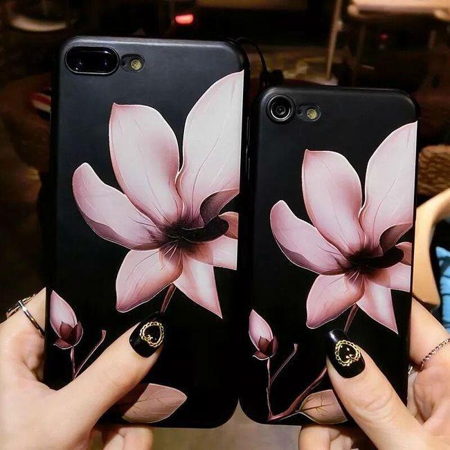 Květinový kryt na iPhone 6 - 7 1