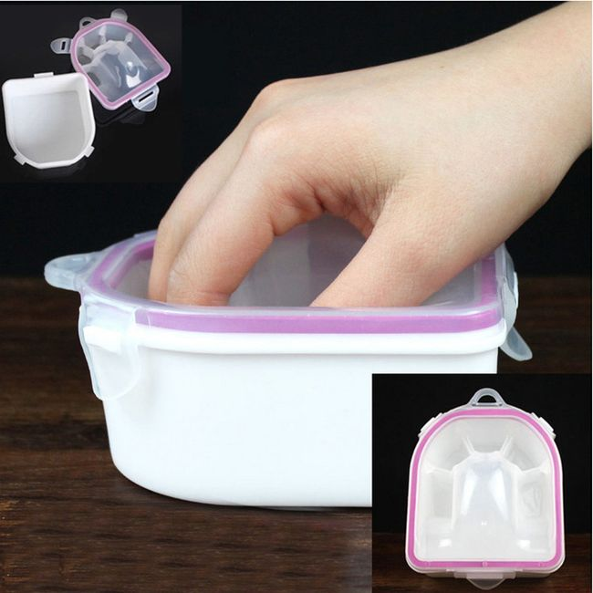 Plastová vanička na mokrou manikúru 1