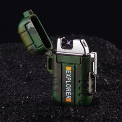Vodotěsný zapalovač na nabíjení - 5 barev