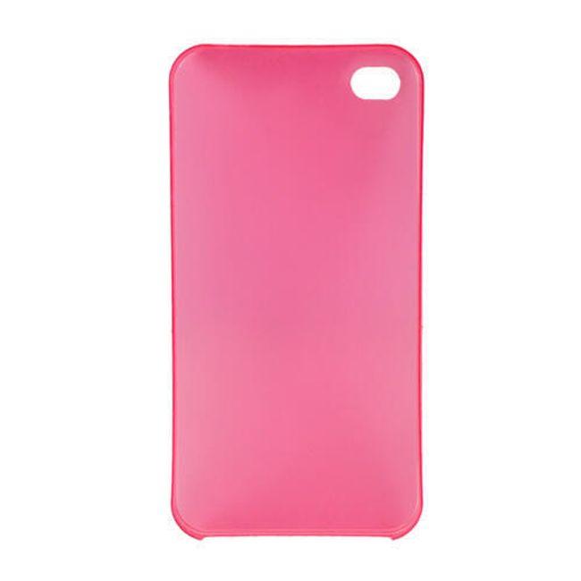 Plastový ochranný kryt na iPhone 4 a 4S - červený 1