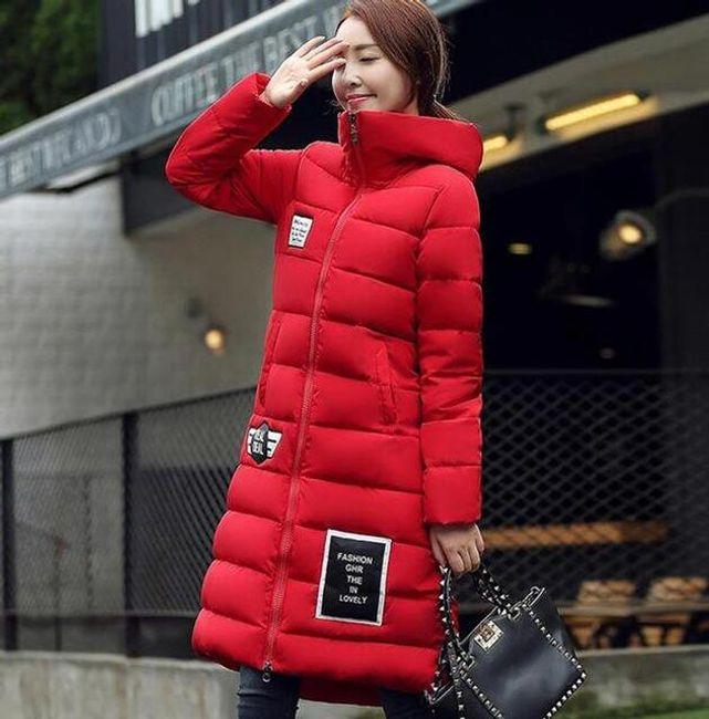 Dlouhá zimní bunda Oriana 1