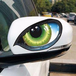Samolepka na auto - kočičí oko