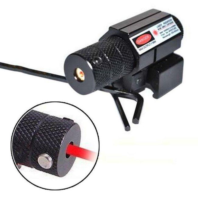 Laserový zaměřovač s podstavcem pro namontování 1