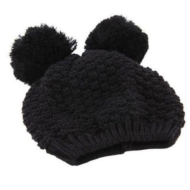 Zimní čepice Mickey ouška 1