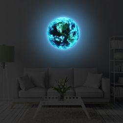 3D samolepka - svítící planeta