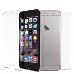 Zadní i přední ochranné sklo pro iPhone - různé typy