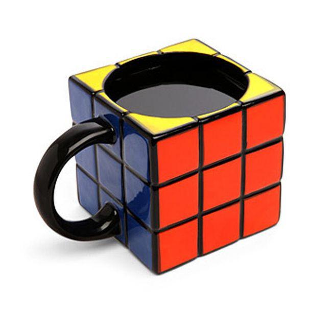 Keramický hrneček - Rubikova kostka 1