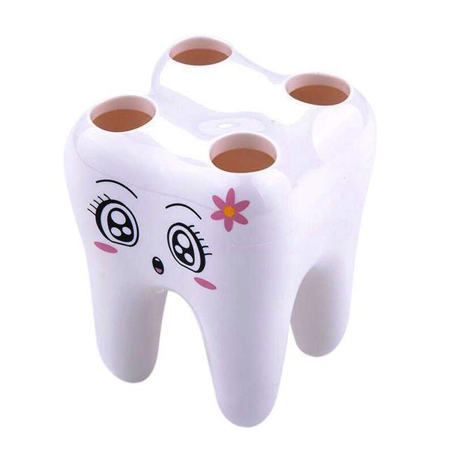 Držák na kartáčky - zub 1