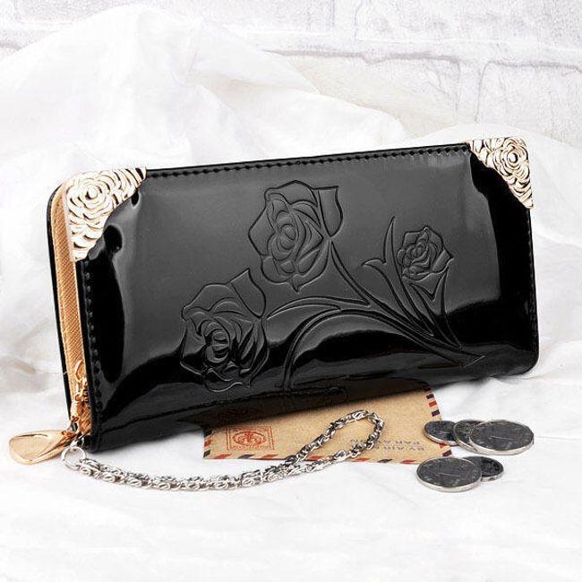 Peněženka s růží - 6 barev 1