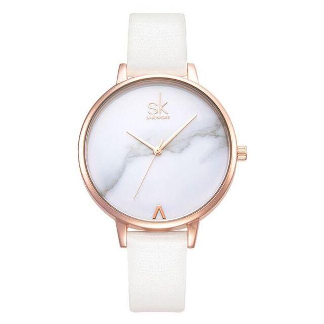 Jednoduché dámské hodinky - 4 varianty 1