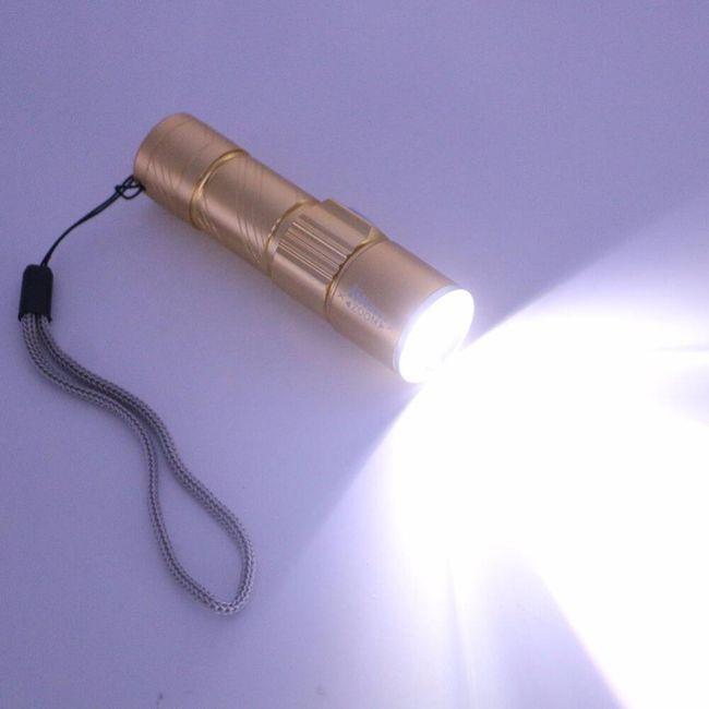USB svítilna se 3 režimy - 2 000 lm 1