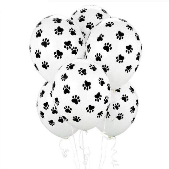 Sada balónků se psími tlapkami - 20 kusů 1