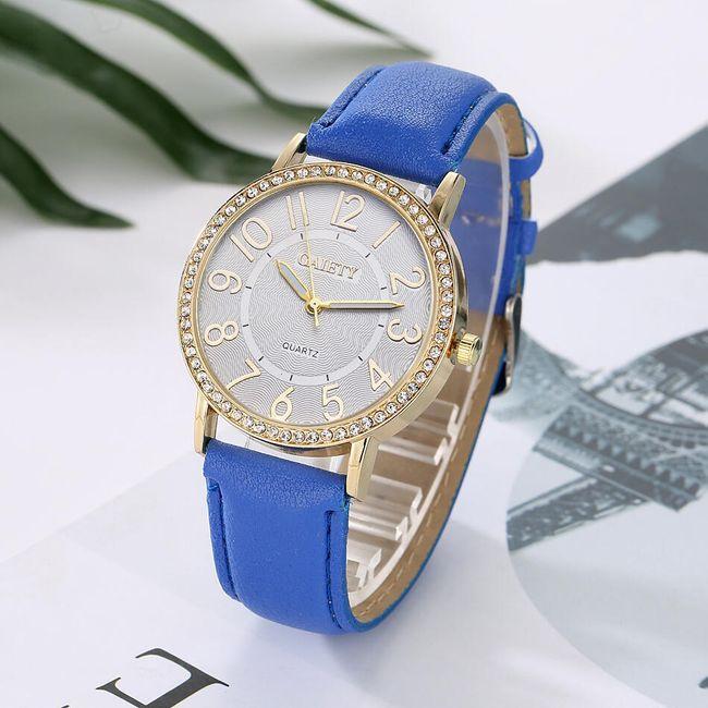 Dámské hodinky v ležérním stylu - více barev 1
