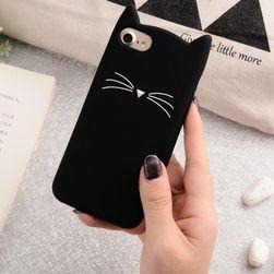 Kryt na iPhone s motivem kočičky - 4 barvy