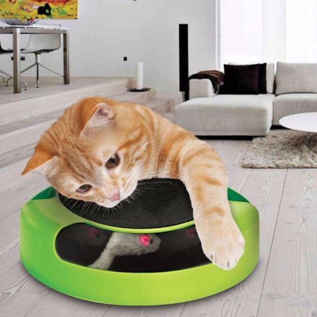 Zábavná hračka pro kočky - Chyť myšičku 1