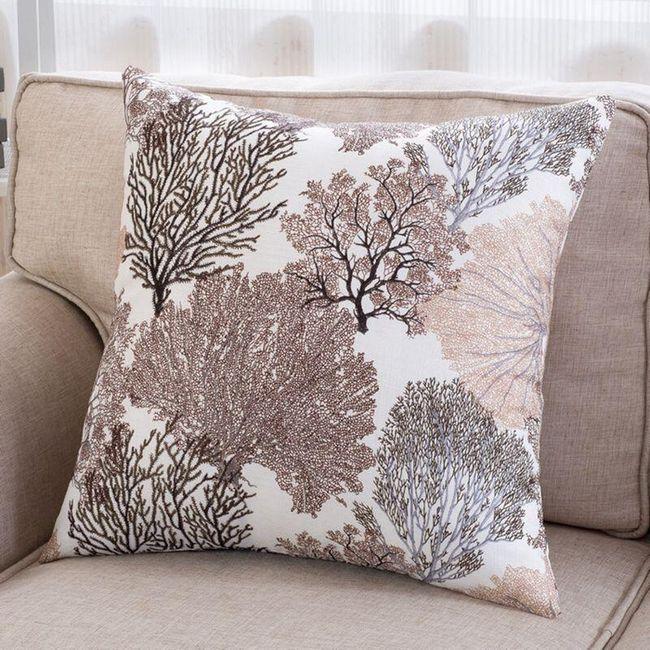 Povlak na polštář - motivy stromů 1
