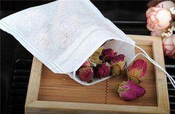 Prázdné čajové sáčky z netkané textilie - 100 ks