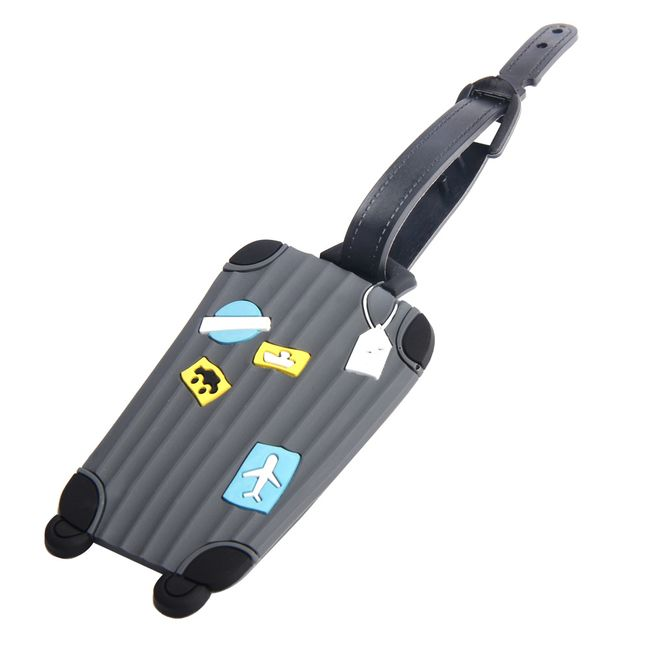 Štítek na zavazadlo ve tvaru kufru 1