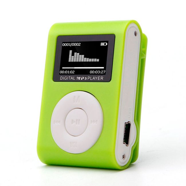 MP3 přehrávač s klipem - 5 barev 1