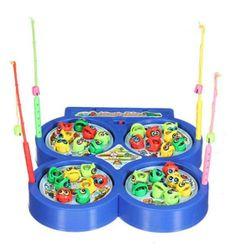 Hra pro děti - magnetické rybičky