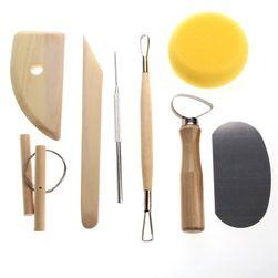 Sada nástrojů pro úpravu keramiky