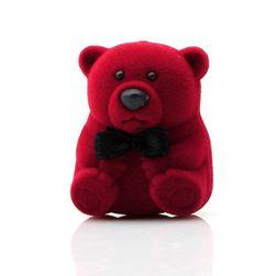 Krabička na prsten - medvídek