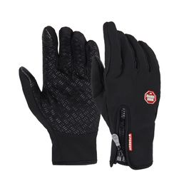 Univerzální sportovní rukavice se zapínáním na zip