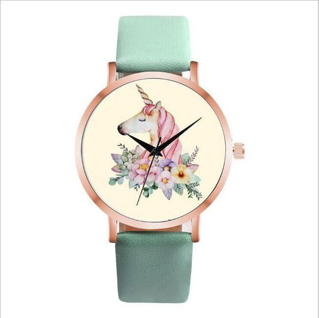 Dámské hodinky s jednorožcem - 5 barev 1