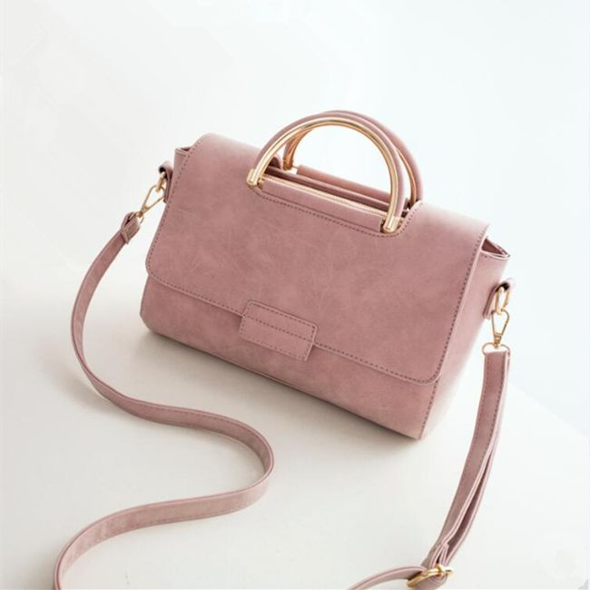 Malá dámská kabelka do ruky i přes rameno - 2 barvy 1