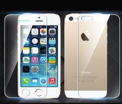 Přední a zadní ultratenké tvrzeného sklo pro iPhone 5/5S