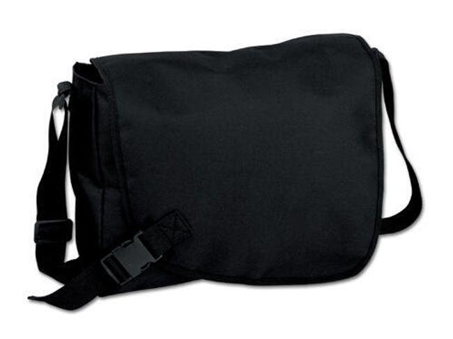 Černá unisex taška přes rameno 1