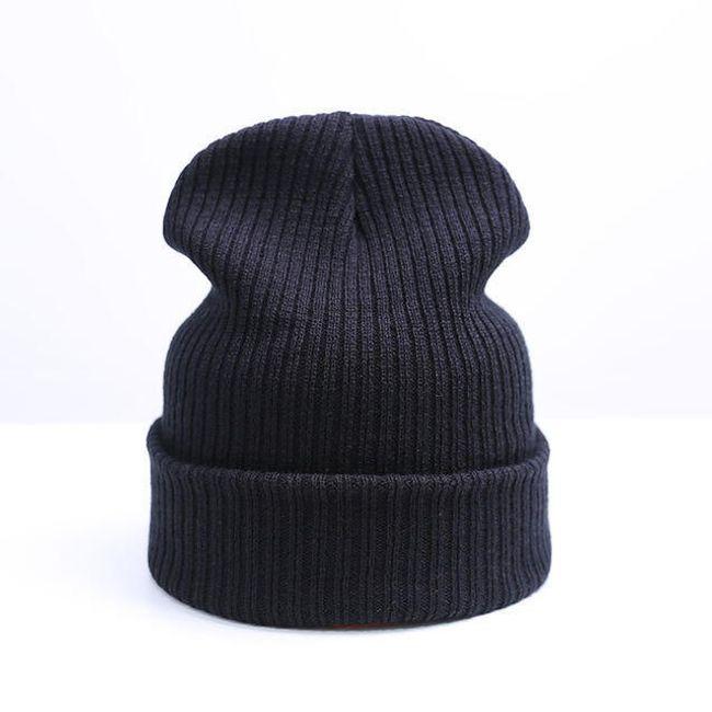 Jednoduchá zimní čepice - 9 barev 1