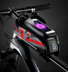 Cyklistická brašna na rám kola - 4 barvy
